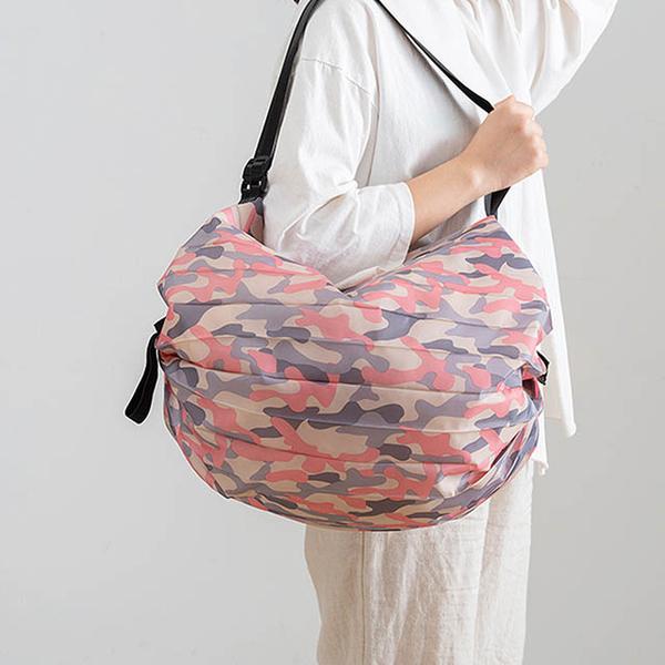 (E.City)E.City_Large-capacity foldable second-opening eco-friendly shopping bag