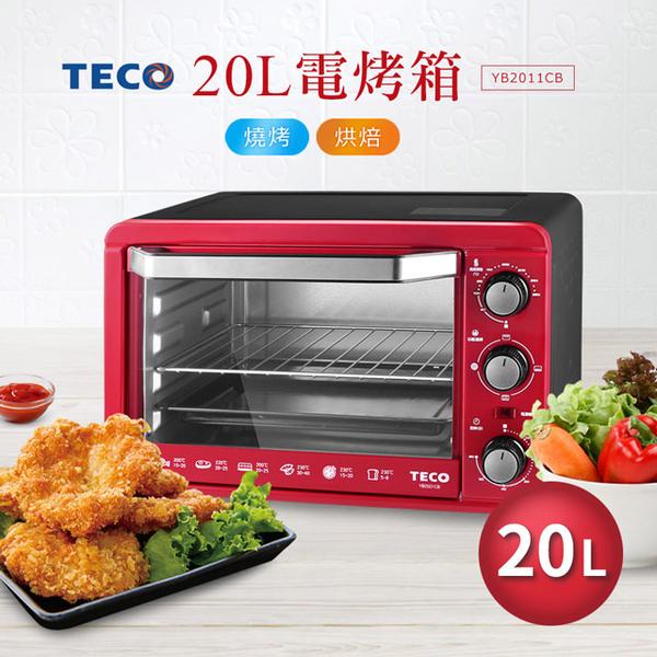 (teco)TECO 20L electric oven (red) YB2011CB