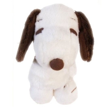 Small Auditorium Snoopy Doll Plush Doll Muppet Toy (S Beige Sitting)
