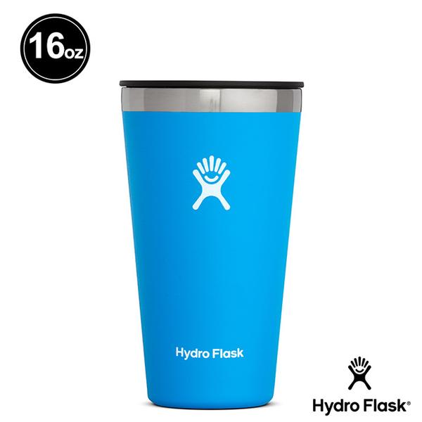 Hydro Flask 16oz/473ml 保冷 保溫隨行杯 海洋藍