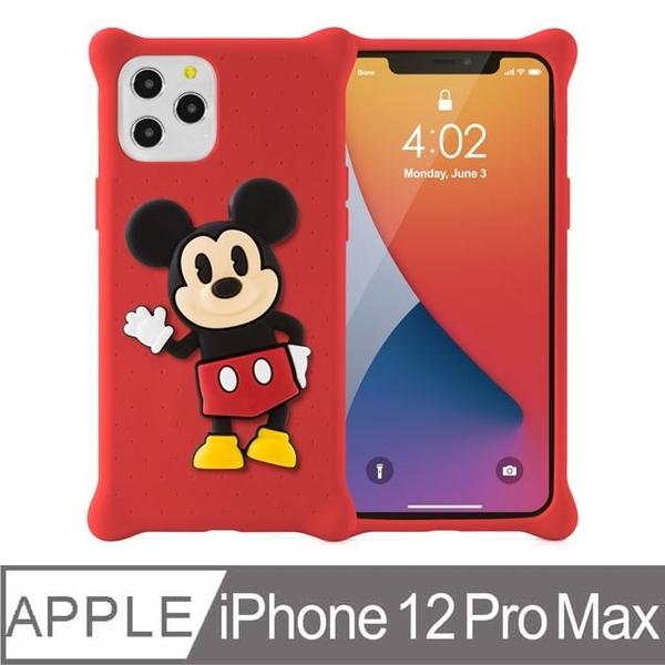 Bone / iPhone 12 Pro Max Phone Case-Doll Bubble Cover-Mickey