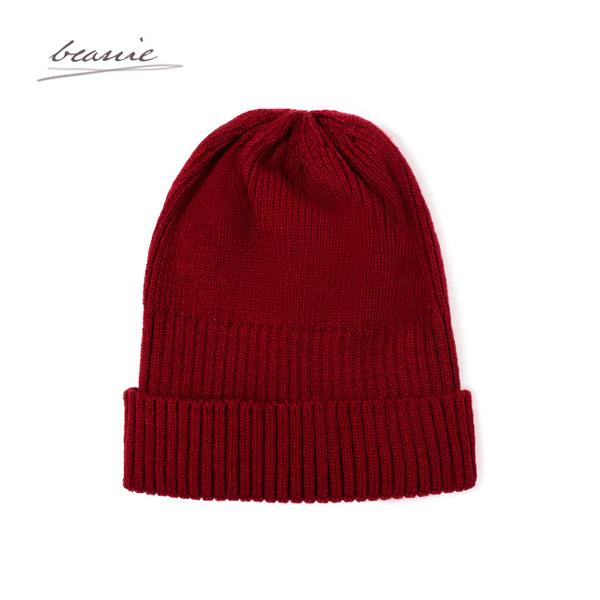 【經典不敗款】韓版毛帽/毛線帽 帽子 聖誕禮物 交換禮物 情人節 生日禮物 男生 女生(紅色)