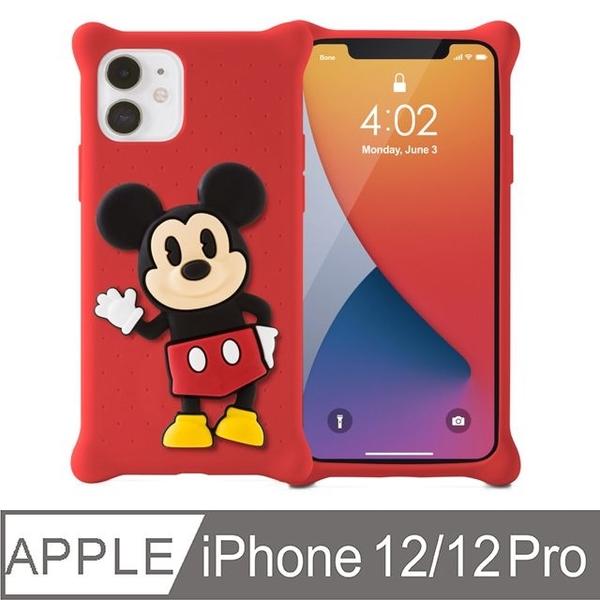 Bone / iPhone 12/12 Pro Phone Case-Doll Bubble Cover-Mickey
