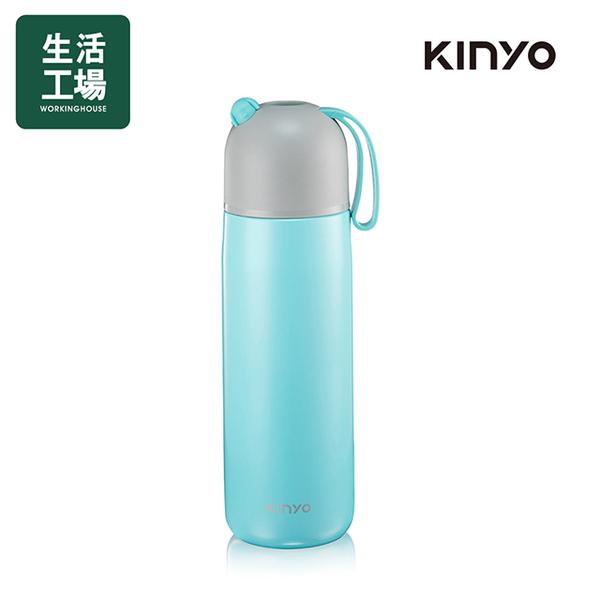 Kinyo 316 stainless steel vacuum flask 400ML-blue KIM-39BU-life workshop