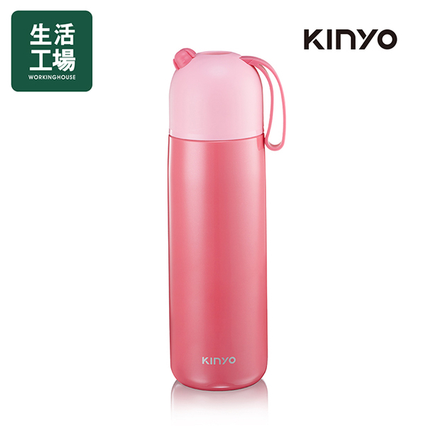 Kinyo 316 Stainless Steel Vacuum Insulation Cup 400ML-Pink KIM-39PI-Life Workshop