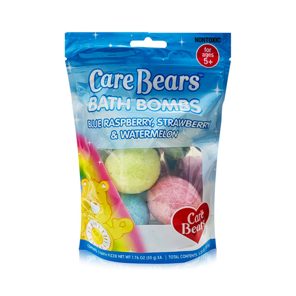 (Care Bear)Care Bear Cartoon Bath Ball 3pcs X50g