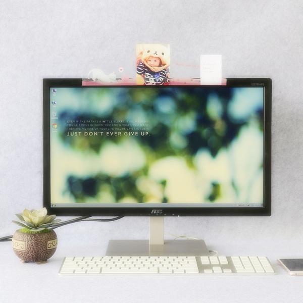 【OSHI OSHI】Computer screen message memo board-Maoqiu cat/MEMO folder/gift/office supplies/sticky note message board/below 100 yuan