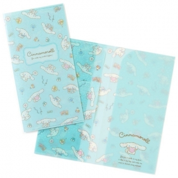 """Small auditorium big-eared dog day-made double-opening ticket storage folder """"Light Blue"""" ticket card holder. Concert fan storage"""