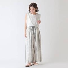 [COLONY 2139] กางเกงขากว้าง ผูกเชือกที่เอว