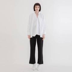 [COLONY 2139] กางเกงขายาวจับจีบด้านข้าง