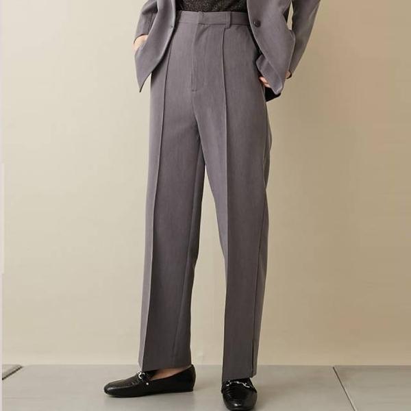 [COLONY 2139] กางเกงสูทขายาว แต่งจีบหน้า