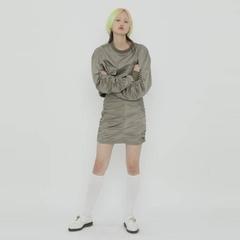 [ROCKET X LUNCH] กระโปรงทรงเอ สไตล์เกาหลี