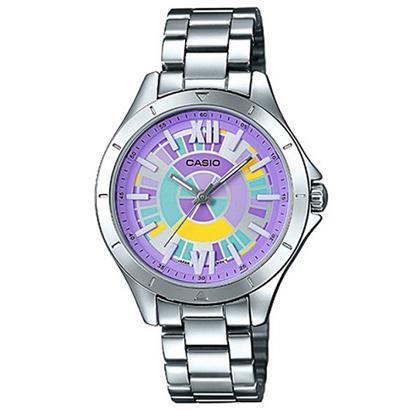 นาฬิกาข้อมือผู้หญิง CASIO คาสิโอสีสันสดใส LTP-E129D-6A