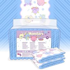 ABDL-Rearz Lil's Monster ผ้าอ้อมสำหรับผู้ใหญ่  (2ชิ้น)