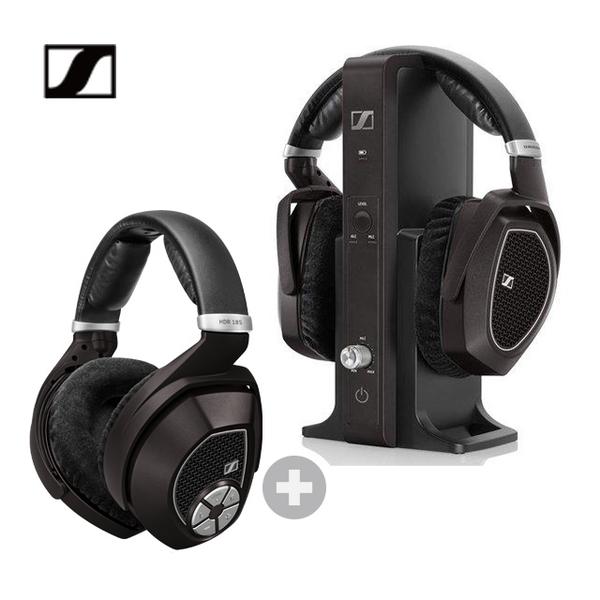 (sennheiser)Sennheiser RS 185+HDR 185 home open wireless earphone dual earphone discount combination