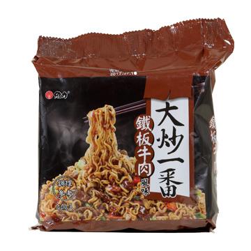 維力 大炒一番鐡板牛肉風味麵(4包/袋)