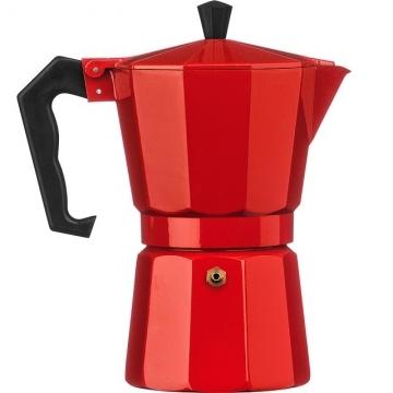 Premier Italian Moka Pot (Red 6 Cups)