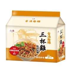 Taijiu TTL บะหมี่แห้ง รสไก่ (5 ถุง/แพ็ค)