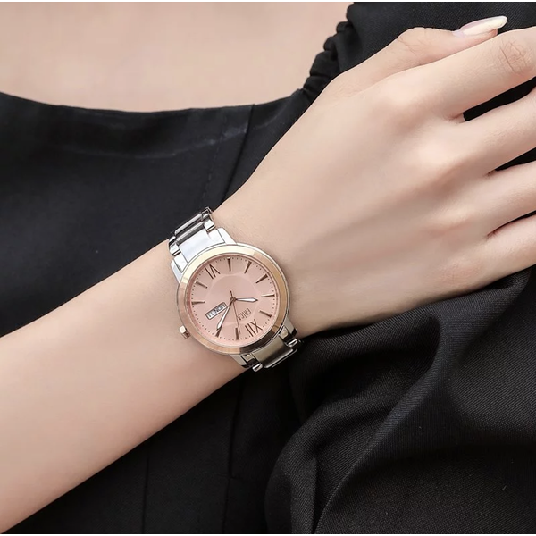 【ERICA】นาฬิกาข้อมือสแตนเลส ERICA X MICKEY MOUSE 90S 1+1 สีโรสโกลด์ (รุ่น ER-17-GLP) ขนาด 38 มม.