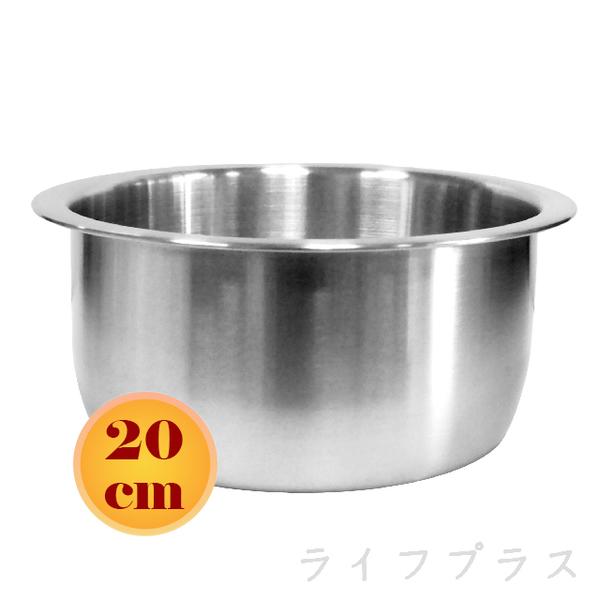 (一品川流)#316 stainless steel German cooking pot-20cm