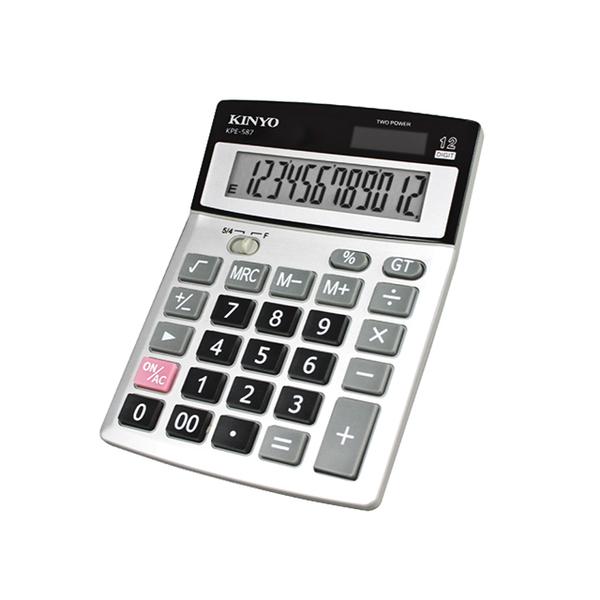 KINYO桌上型計算機KPE587