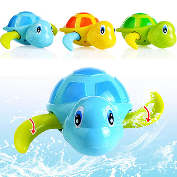[KTOY] Children's bath toy clockwork water skiing turtle does not pick color 2 into the group