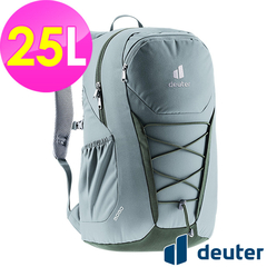 (atunas)[German deuter] GOGO Leisure Travel Backpack 25L (3813221 Light Gray Green/School Bag/Daily Use/Commuter)