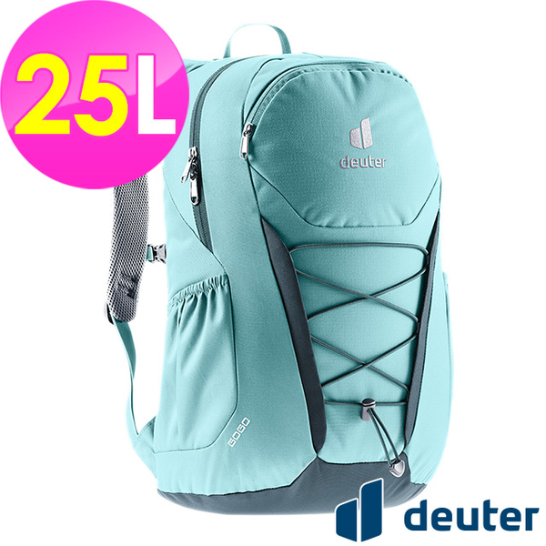 (atunas)[German deuter] GOGO Leisure Travel Backpack 25L (3813221 Lake Blue/School Bag/Daily Use/Commuter)