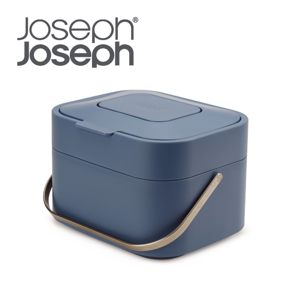 (josephjoseph)Joseph Joseph Smart Deodorizing Food Waste Bucket (Sky Blue)