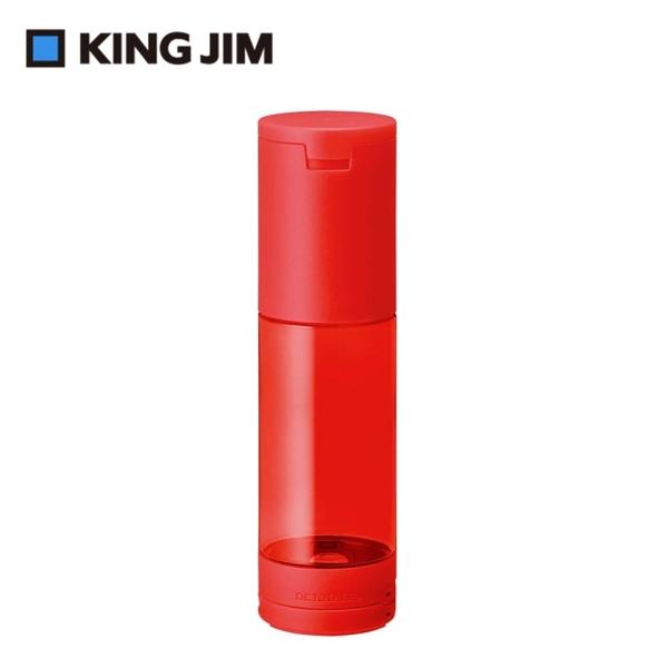 (kingjim)[KING JIM] OCTOTATSU Octopus Sucker Color Pen Holder Red Large (2566-RD)