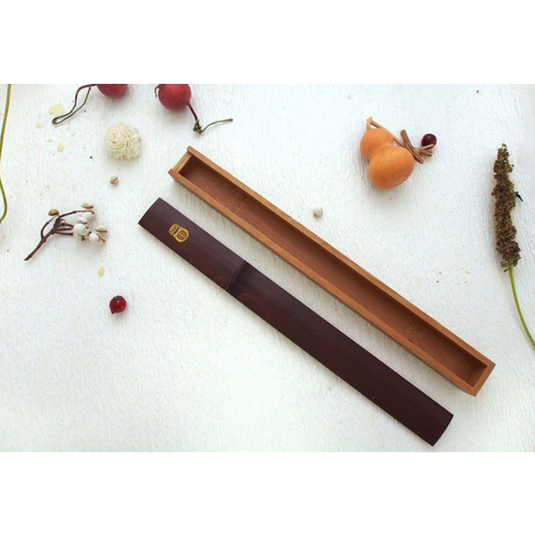 Handmade bamboo chopsticks box set (chopsticks + chopstick box) tableware tableware bamboo craftsmanship