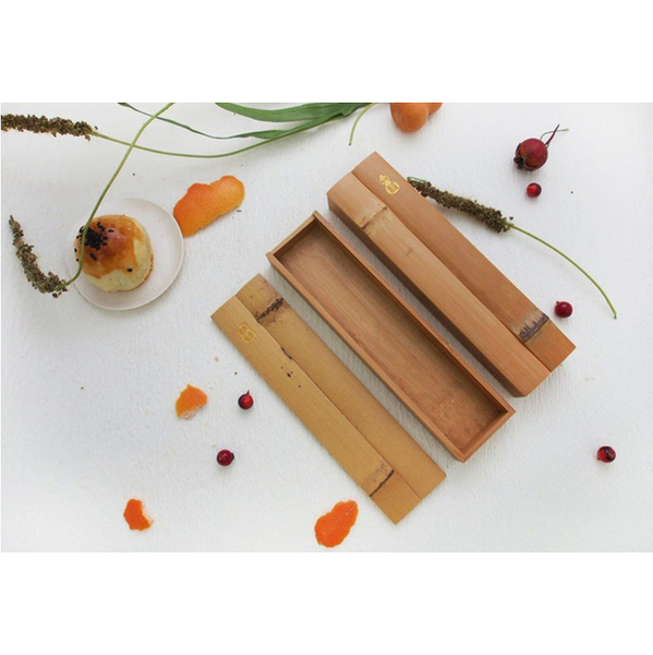 Craftsmanship Workshop Bamboo Pencil Box and Universal Box Home Storage Stationery Gift Bamboo Crafts