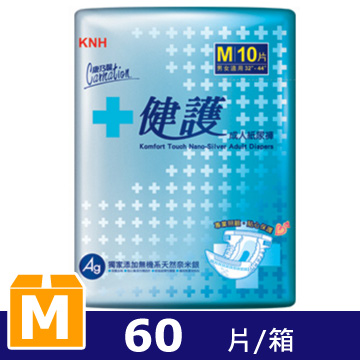 Carnation Health Care Adult Diapers M 10pcsX6bags/Box