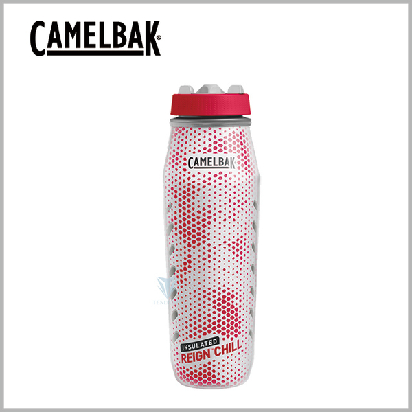 (CAMELBAK)[United States CamelBak] CB192601001 1000ml Reign Chill professional sports ice preservation spray water bottle red