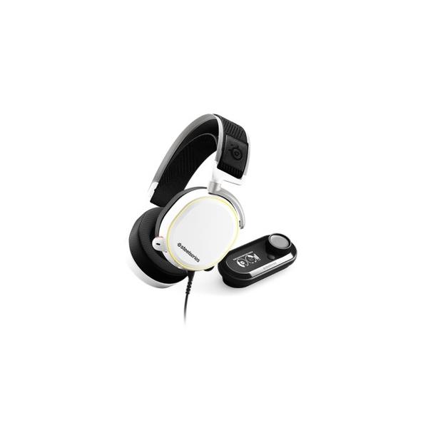 [SteelSeries Sairui] Arctis PRO White + GameDAC Wired Gaming Headset