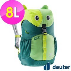(deuter)[German Deuter] kikki children backpack 8L (3610421 green/dark green/school bag)