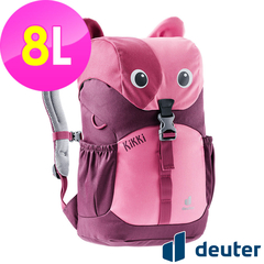 (deuter)[Germany Deuter] kikki children backpack 8L (3610421 red/dark red/school bag)