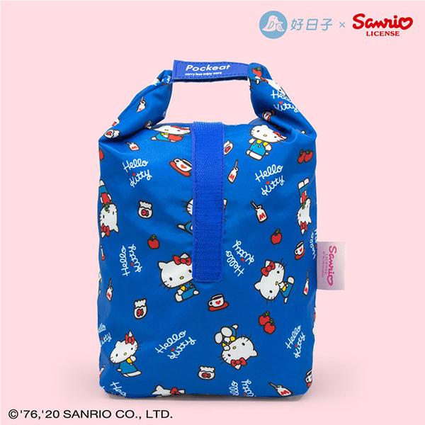 (agooday)Good day   Pockeat Eco Food Bag (Big Food Bag) Hello Kitty Co-branded-What I Like