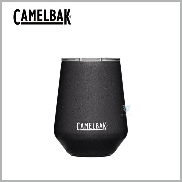 (CAMELBAK)[United States CamelBak] CB2392001035 350ml Wine Tumbler Stainless Steel Wine Tumbler (Ice Preservation)-Thick Black