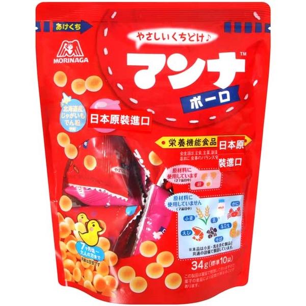 森永製果 嬰兒立袋小饅頭 (34g)