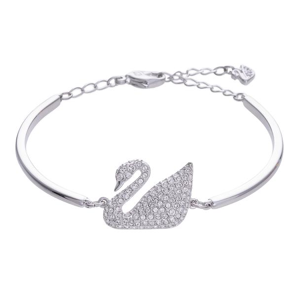(SWAROVSKI)SWAROVSKI SWAN crystal bracelet