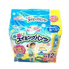 Japan GOO.N Water Play กางเกงผ้าอ้อม เพศผู้ 6~12กก. (ม.) 12ชิ้น