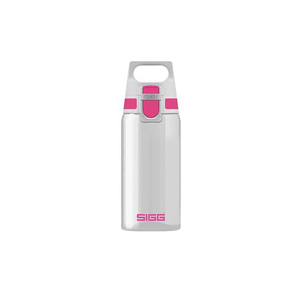 (sigg)Swiss Centennial SIGG Full Clear Tritan Water Bottle 500ml-Pink