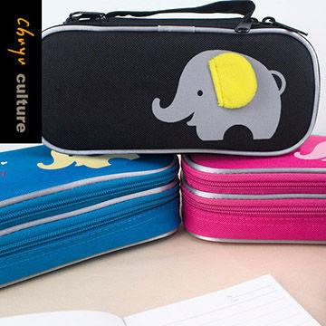 (chuyuculture)PB-60587 Double-layer pen case-doodle