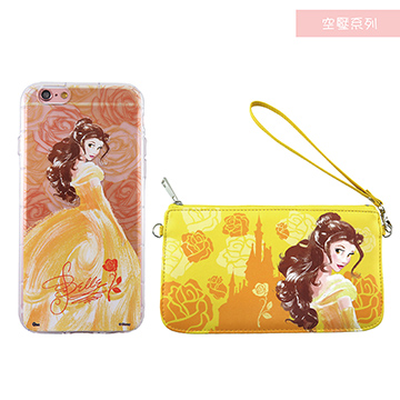 (Disney)Disney Disney iPhone 6 / 6S Plus (5.5) drop resistance protective sleeve pneumatic air cushion + cell phone pocket gift box - hand-painted pri