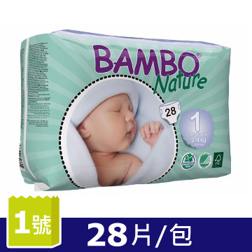 BAMBO ผ้าอ้อมเด็ก เบอร์ 1-28 ชิ้น/แพ็ค