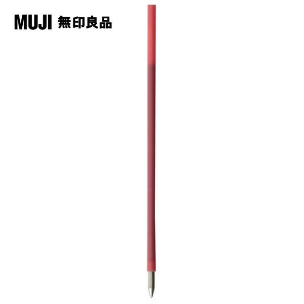 MUJI MUJI [6] hex color pen refill / red /0.7mm