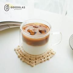 แก้วอย่างดี GOODGLAS   CO แก้วสองชั้น 300ml