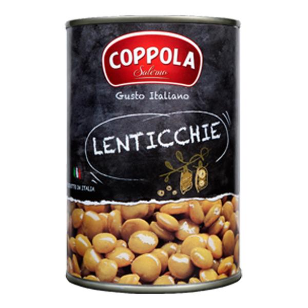 Coppola Italian natural lentils 400g