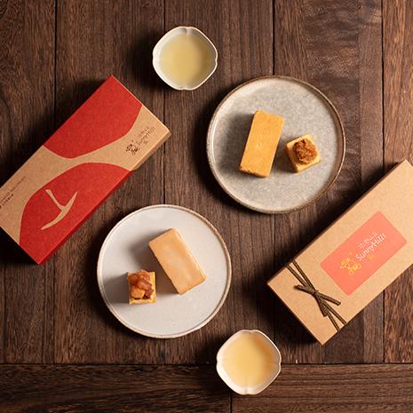 [微熱山丘]  鳳梨酥蘋果酥 - 禮盒 (附提袋)